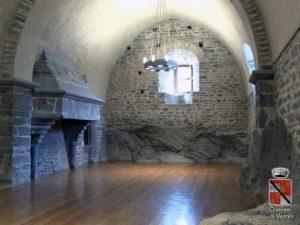 Interni castello Verres
