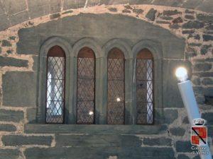 Decorazioni interne castello di verres