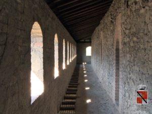 Mura interne castello verres